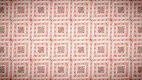 Abstract roze room geometrisch behang Royalty-vrije Stock Afbeeldingen