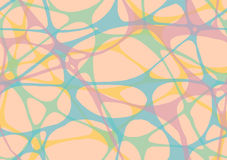 Abstract rubber band of network. Seamless pattern Royalty Free Stock Images