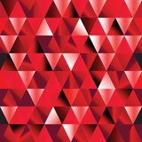 Abstract ruby seamless triangle pattern. Royalty Free Stock Photo