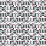 Abstract ruffle geometric seamless pattern. Pixel blink texture Royalty Free Stock Photos