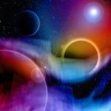 Abstract ruimteontwerp Stock Fotografie