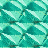 Abstract rumpled triangular background texture. Seamless polygonal pattern for your design. Creative template. Polygons pattern repeated. Polygons pattern stock photography