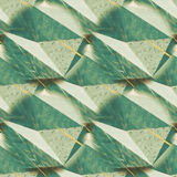 Abstract rumpled triangular background texture. Seamless polygonal pattern for your design. Creative template. Polygons pattern repeated. Polygons pattern royalty free stock photography