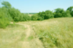 Abstract rural landscape Stock Images
