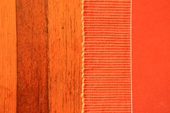Abstract Rust color with timber 5 Royalty Free Stock Photo