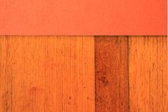 Abstract Rust color with timber 1 Stock Photo