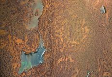 Abstract rust detail Royalty Free Stock Photos
