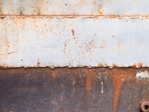 Abstract rust on the metal surface. Royalty Free Stock Images