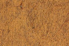 Abstract of Rusted Steel Texture. A macro view of excavator bucket, showing a rusted steel texture. Suitable for backgrounds. Photographed in Muurla, Finland in Royalty Free Stock Photos