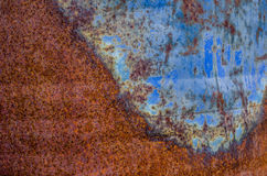 Abstract rusty background. Abstract background of rusty and corroded metal surface Royalty Free Stock Photography