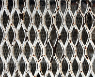 abstract rusty chain link metal texture. Stock Image