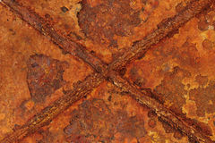 Abstract rusty metal Stock Images