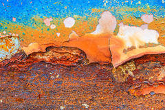 Abstract rusty metal for background Royalty Free Stock Photo