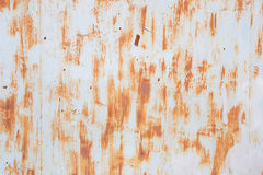 Abstract rusty metal surface background. Grunge aged metal texture Royalty Free Stock Photo