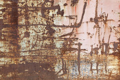 Abstract Rusty Metal Surface Background Stock Photography