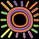 abstract słońce Zdjęcie Stock
