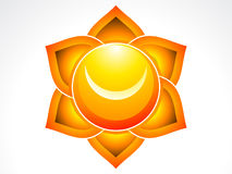 Abstract sacral chakra Royalty Free Stock Photo