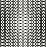 Abstract sacred geometry black and white grid halftone cubes pattern. Background vector illustration
