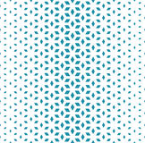 Abstract sacred geometry blue grid halftone cubes pattern Royalty Free Stock Photo