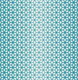 Abstract sacred geometry blue grid halftone cubes pattern. Background royalty free illustration