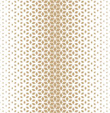 Abstract sacred geometry golden grid halftone cubes pattern Stock Images