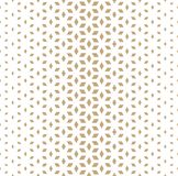 Abstract sacred geometry golden grid halftone cubes pattern. Background royalty free illustration