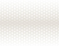 Abstract sacred geometry gray gradient flower of life halftone subtle  pattern Stock Images