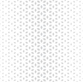 Abstract sacred geometry gray grid halftone cubes pattern Royalty Free Stock Photos