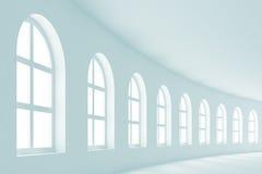 abstract sala wnętrze Zdjęcie Royalty Free