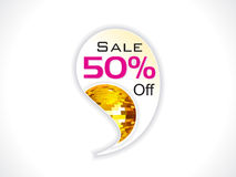 Abstract sale sticker Stock Photos