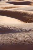 Abstract sand dunes landscape, desert of Sahara Stock Image