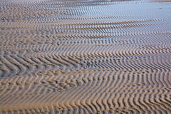 Abstract sand pattern. Seaside natural organic landscape detail royalty free stock photos