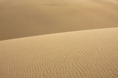 Abstract of Sand Ripples Royalty Free Stock Photography