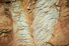 Abstract in sandstone royalty free stock photography