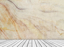 Abstract sandstone wall and wood slab patterned (natural patterns) texture background. Royalty Free Stock Image