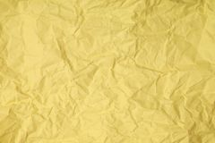 Abstract crumpled paper. Abstract sandy recycle crumpled paper for background Royalty Free Stock Photo