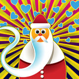 Abstract santa claus background Royalty Free Stock Photography