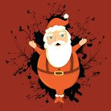 Abstract Santa Clouse Stock Photography