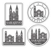 Abstract Sarajevo Stock Photos