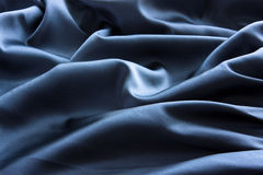 Abstract satin backgroud. Abstract dark-blue satin backgroud Stock Images