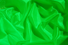 Abstract satin background. Nice Abstract satin background toned with green Royalty Free Stock Photos