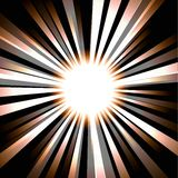 Abstract saturated background with rays coming from center Royalty Free Stock Photos