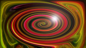 Abstract saturated twirl of colors Stock Photos