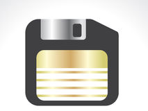 Abstract save icon Royalty Free Stock Photography