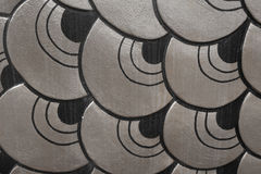 Abstract Scale Aluminium Background Texture. Stock Image