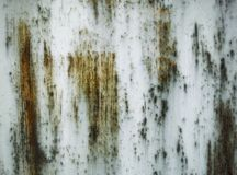 Abstract scary paint Stock Photography
