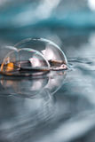 Abstract scene 22 ,soapy  bubble Stock Photos