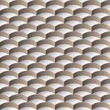 Abstract schaal 3D naadloos patroon Stock Illustratie