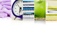 Abstract School Mix Royalty Free Stock Photo