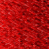 Abstract sci-fi image of rhombs pattern background. Stock Images